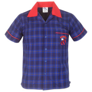 Check Shirt Front View